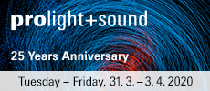 PROLIGHT SOUND FRANKFURT
